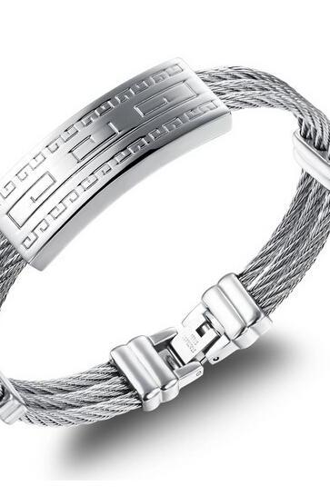 Men's Fashion titanium steel bracelet GH758