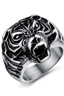 Men's domineering titanium steel ring GJ396